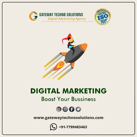 Gateway Techno Solutions || Best Digital Marketing Agency || Internship || SEO, PPC, Social Media and Web Design Service