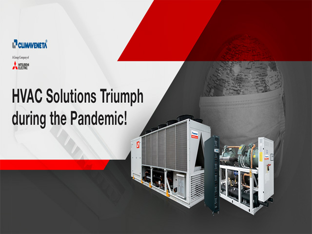 Climaveneta India provides Sustainable HVAC Solutions.