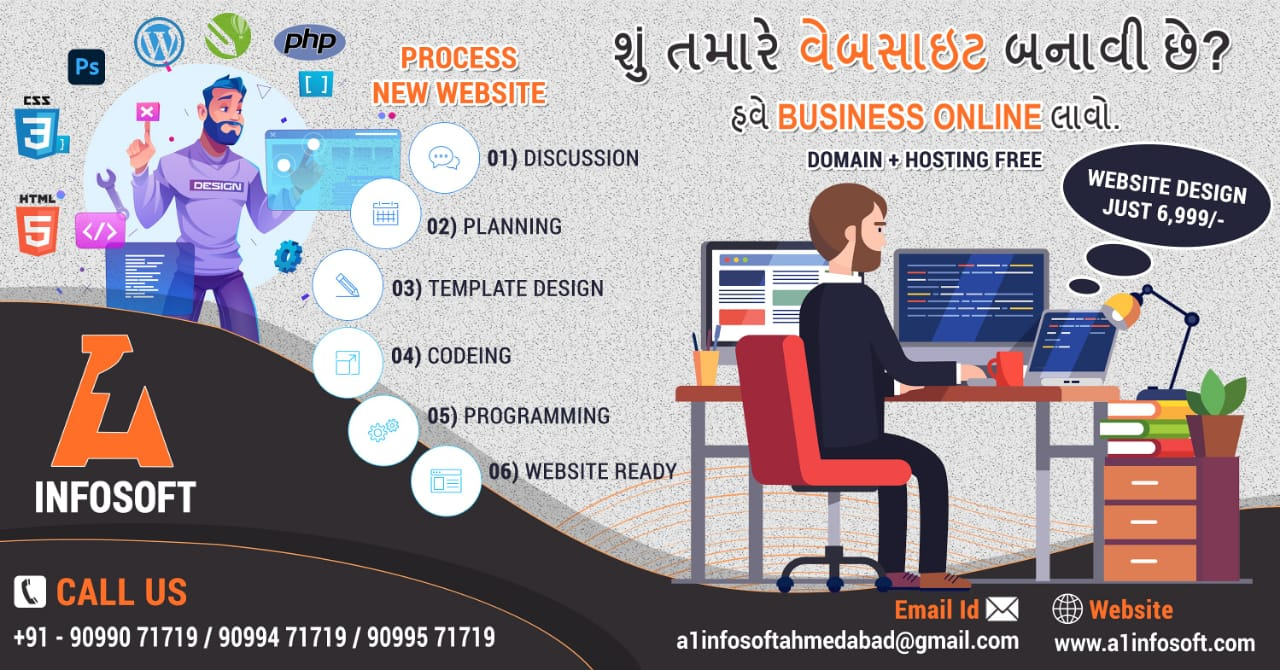 Website Designing in Ahmedabad, Web Design Company in Ahmedabad