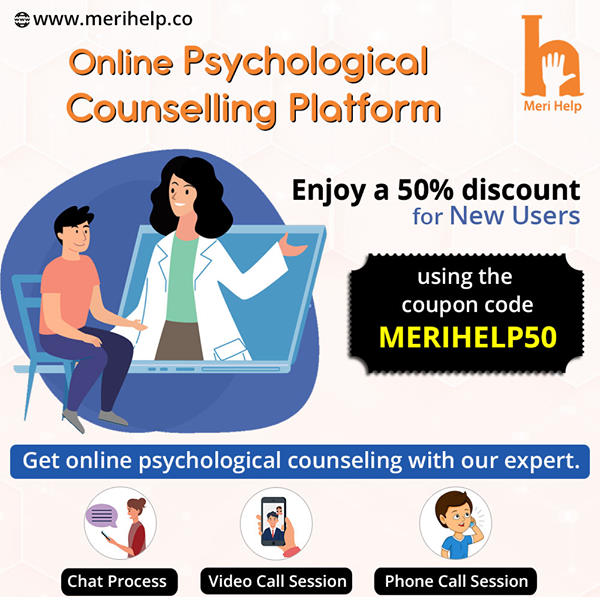 Consult with top online counsellor in India today.