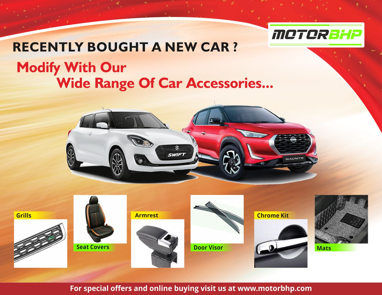 Car Accessories Online Buy In India - Starts at Rs.99   Motorbhp