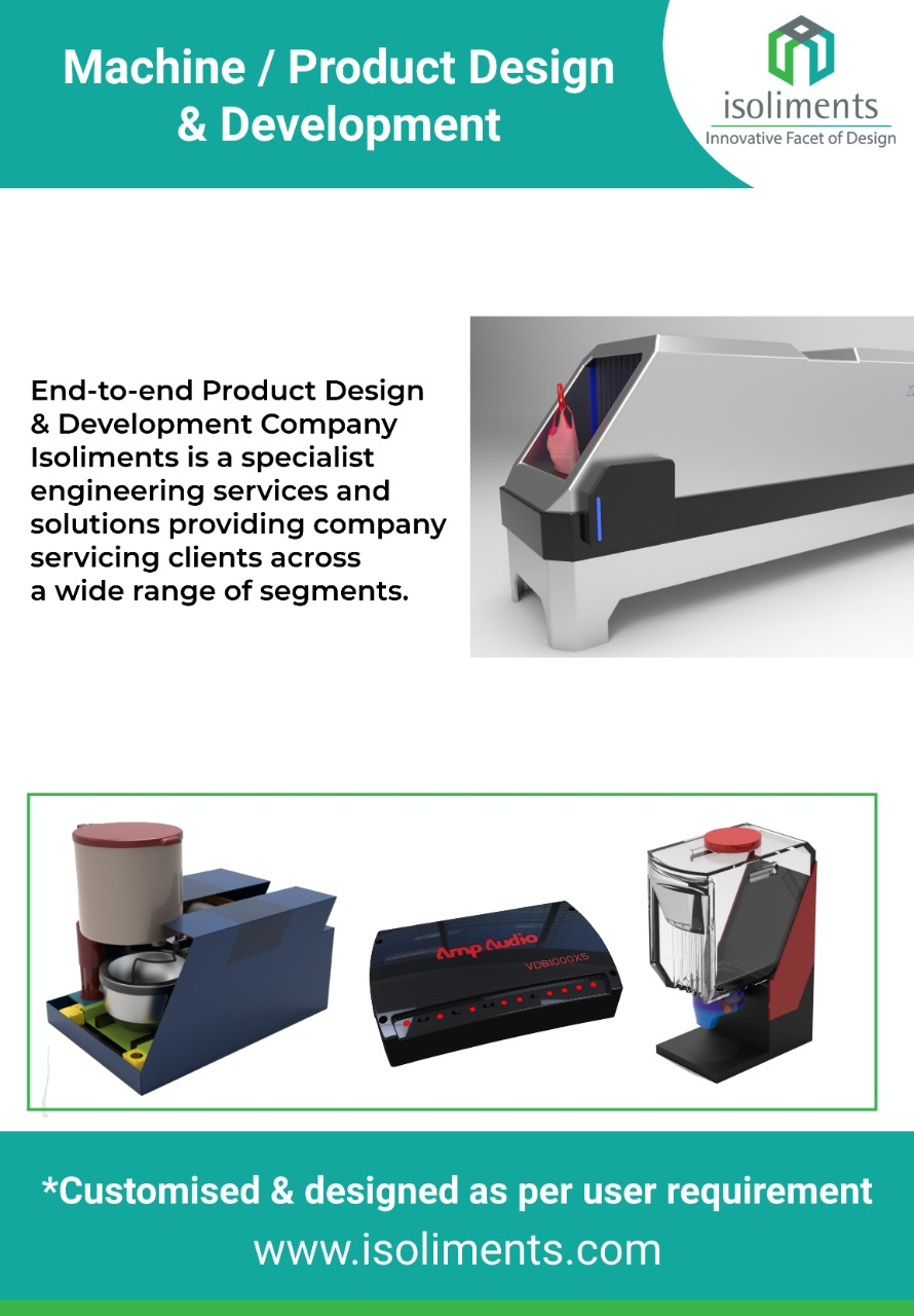 Isoliments : Product Design Company & Prototyping and Manufacturing  Services