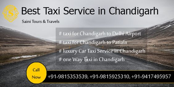 One way taxi service in Mohali - Saini tours taxi services