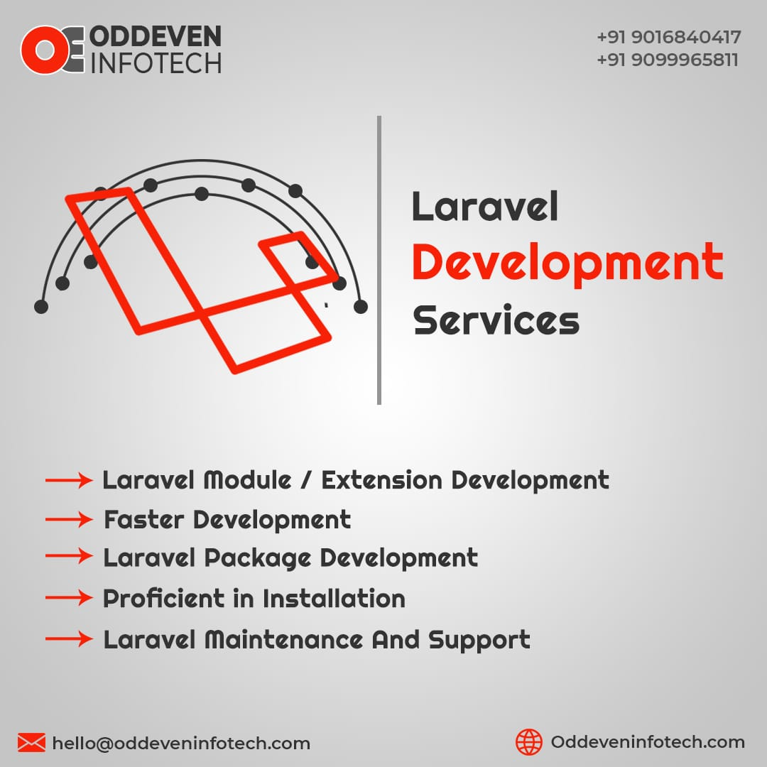 Magnificent Laravel Development Services in India | Oddeven Infotech