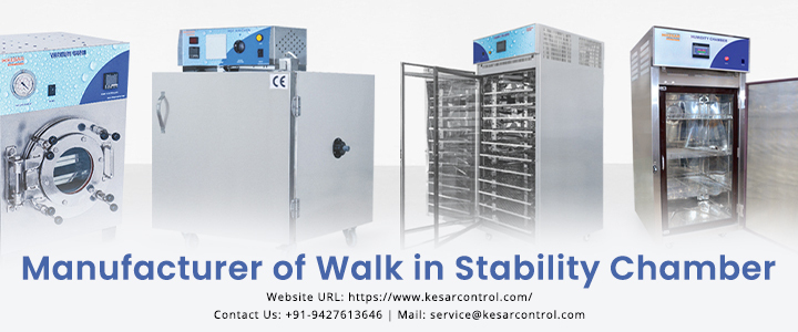 Kesar Control - manufacturer of cold chamber, deep freezer ,stability chamber in Gujarat