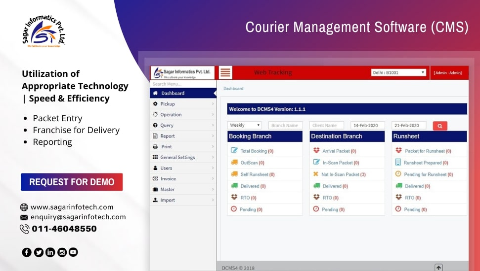 Affordable Courier System, Courier Tracking Software