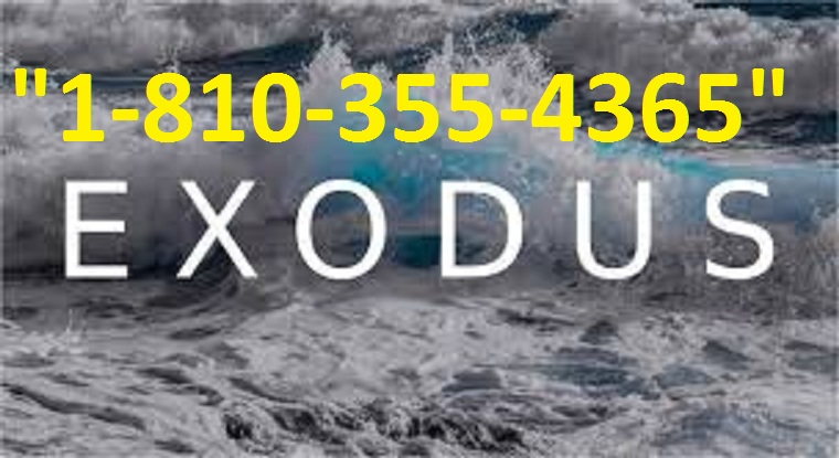 Exodus Support Phone Number +1-(810)-355-4365