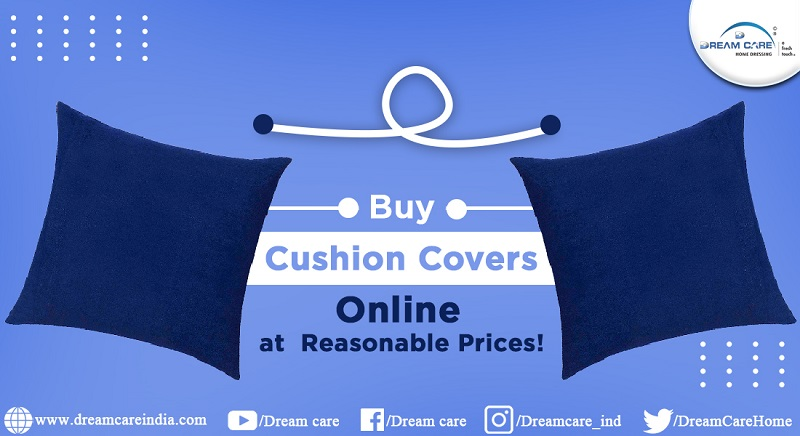 Buy Cushion Covers Online at Reasonable Prices