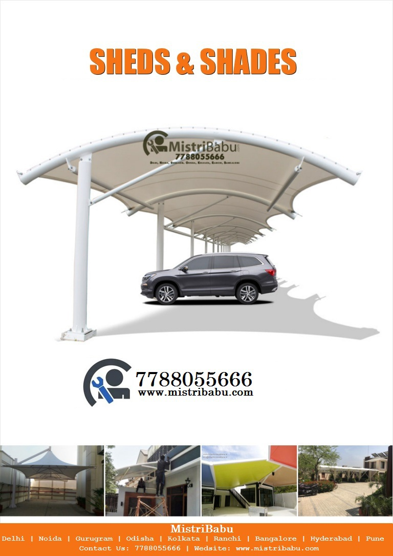 Tensile Car Parking Structure Rourkela, Tensile Car Parking in Rourkela