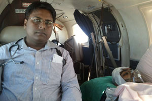 Air Ambulance Services in Bhopal at Low Cost - Call @ +91 9773331118