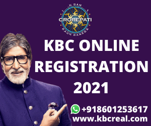 Online KBC Registration With Kbc Official Website