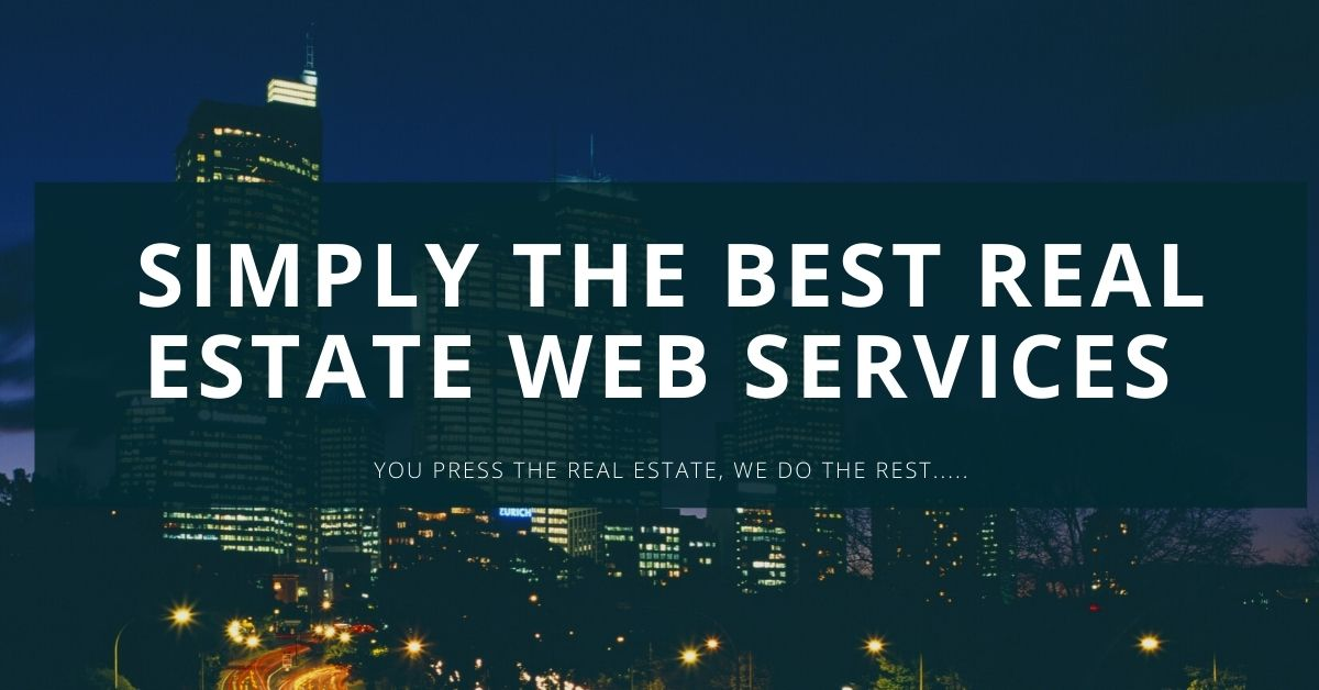 Real Estate web design at much cost effective rate