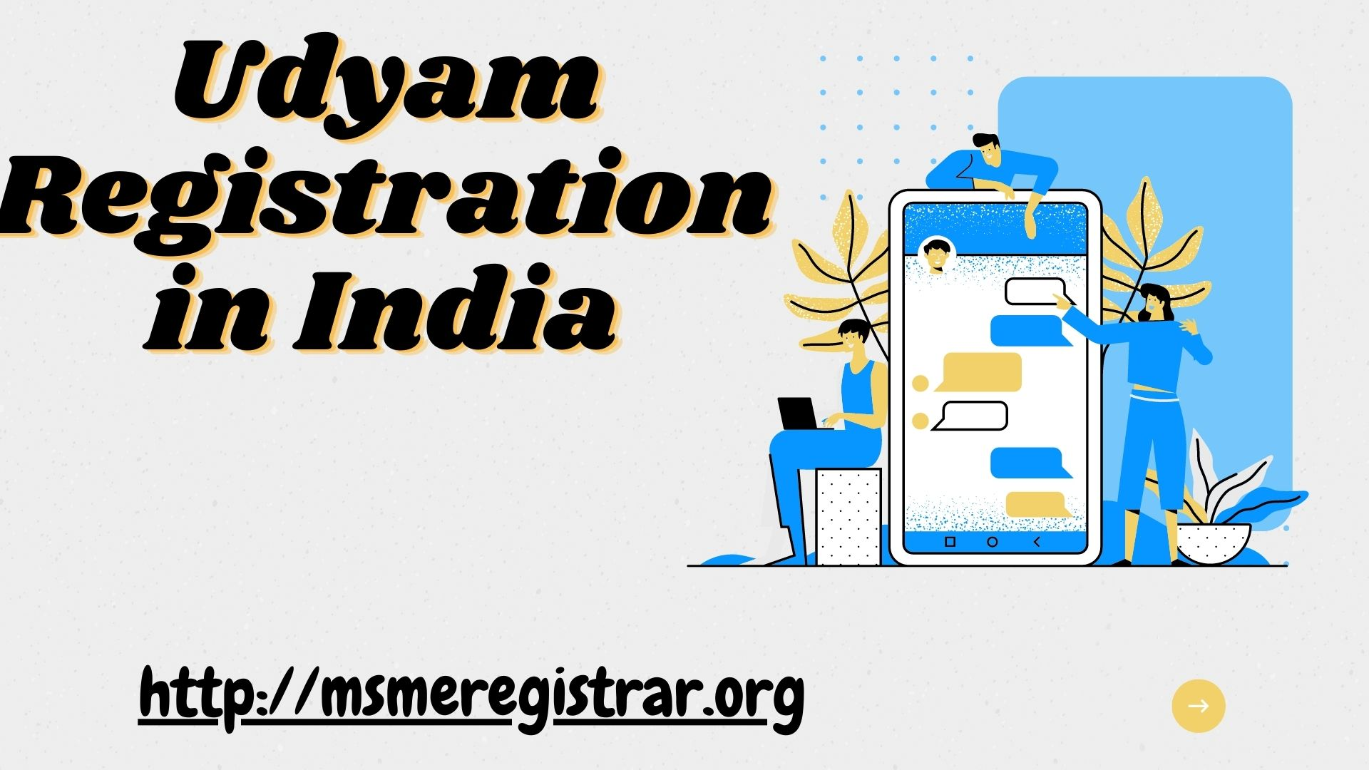 Best service to get Udyam Registration in India @ 8538976655