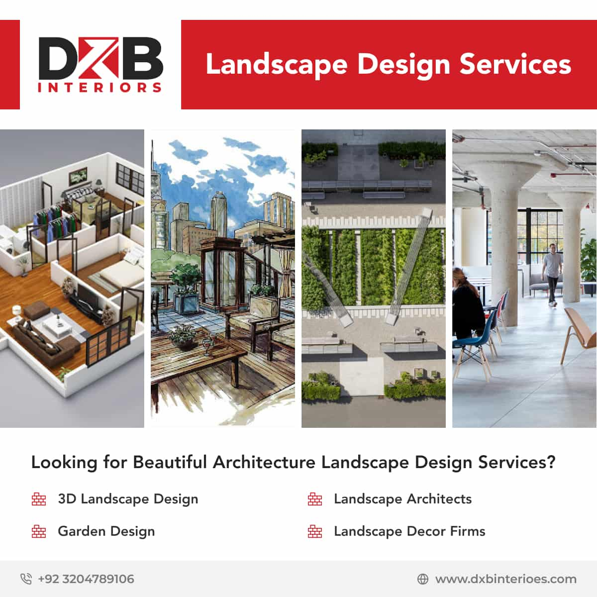 Architecture Landscape Design Services From DXB Interiors