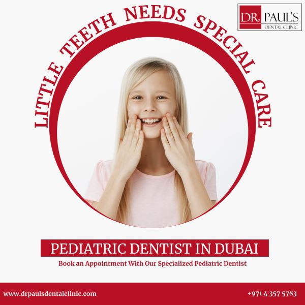 Pediatric dentistry in Dubai- Best Dental Care for Kids