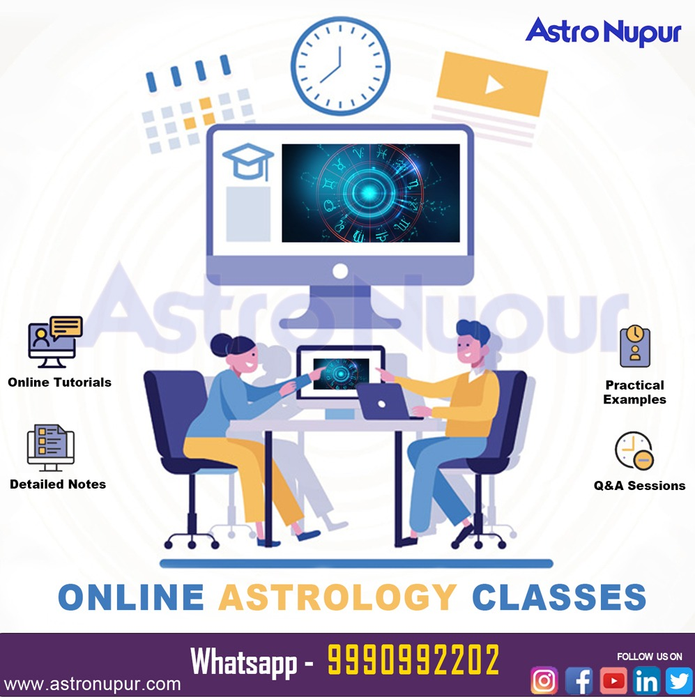 Want to learn Astrology? Book your Personalized classes now at AstroNupur !