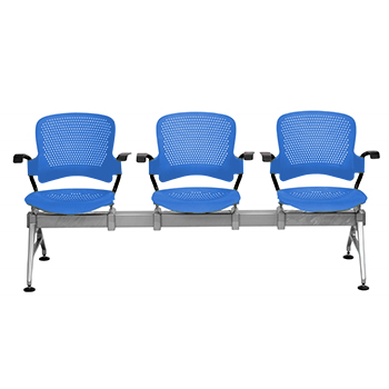 Syona - Three seater Gang chairs manufacturers in India