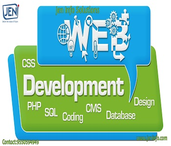 Jen info solutions is one of the best Web Designing companies in Rajahmundry