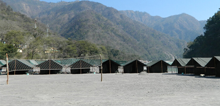rafting and camping in rishikesh