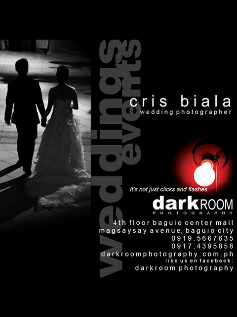 Professional Photographer Baguio - Darkroom Photography